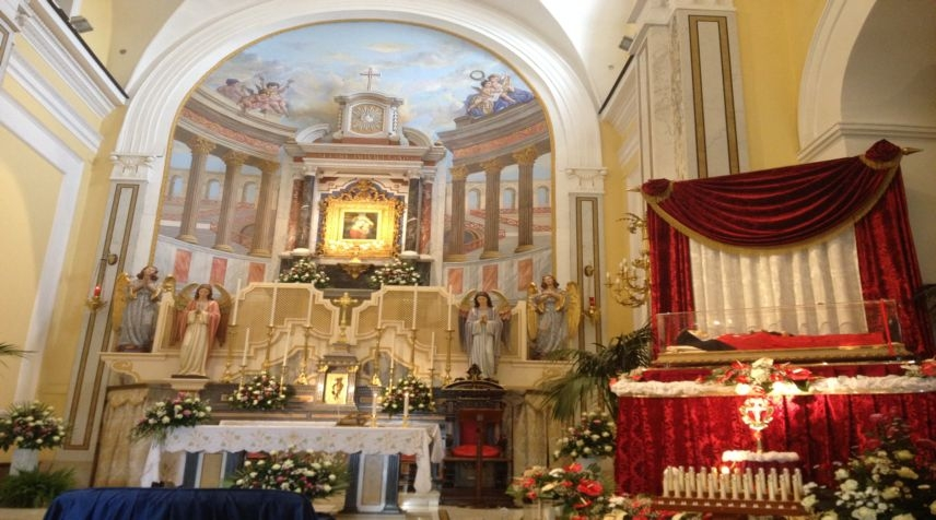La Beata Maria della Passione in pellegrinaggio a Torre del Greco