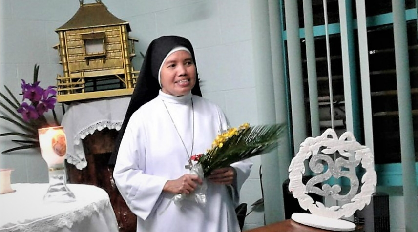 25° Anniversario di Vita Consacrata di Suor Lorna Malinao