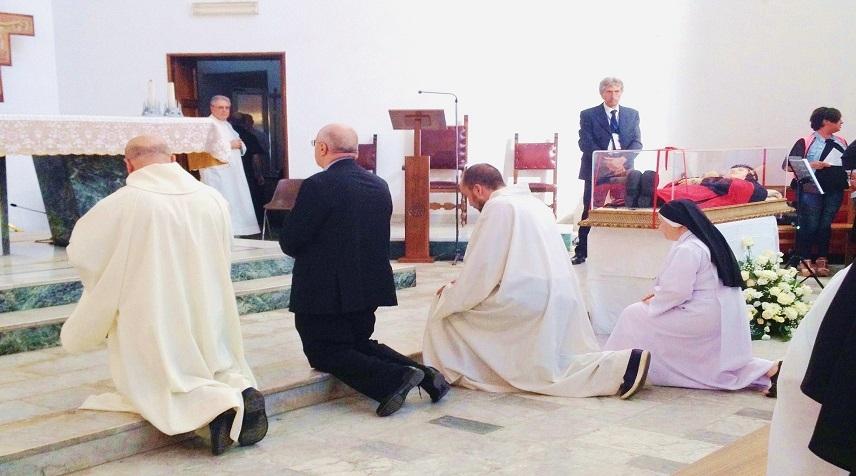 104° anniversario della nascita al cielo della Beata Maria della Passione