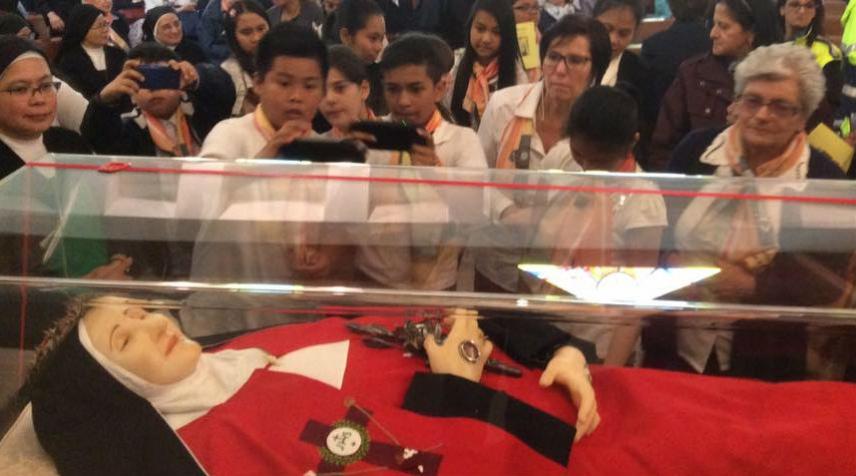 Decimo anniversario di beatificazione della Beata Maria della Passione