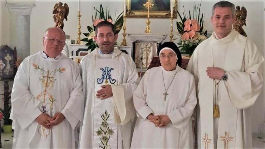 60° Anniversario di Vita Consacrata di M. Rosaria Petti