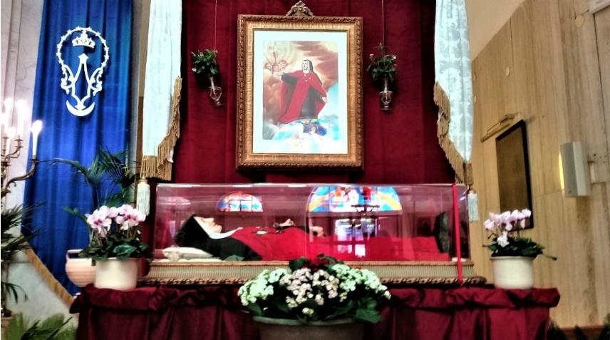 La Beata Maria della Passione in peregrinatio a San Giovanni a Teduccio