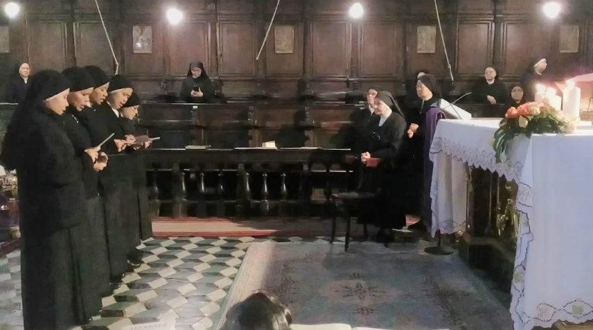 Rinnovazione dei voti nel 172° anniversario di nascita della Venerabile Madre Pia della Croce Notari